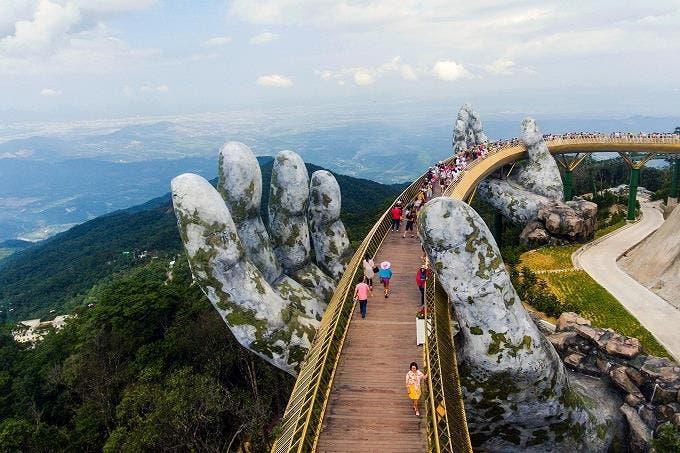 Un paseo en manos de los dioses en las montañas de Vietnam