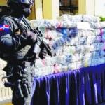 La Dirección Nacional de Control de Drogas (DNCD) con apoyo de la Armada de República Dominicana y bajo la coordinación del Ministerio Público, ocuparon 193 kilos de cocaína,  en un operativo de interdicción realizado en las costas de la provincia la Altagracia. Fuente externa 28/08/2018