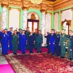 El Pais/ El Presidente Danilo Medina Sanchez Juramenta a los Mando Militares de Distinta Instituciopnes castrence,Hoy /Jose Francisco .23-8-2018