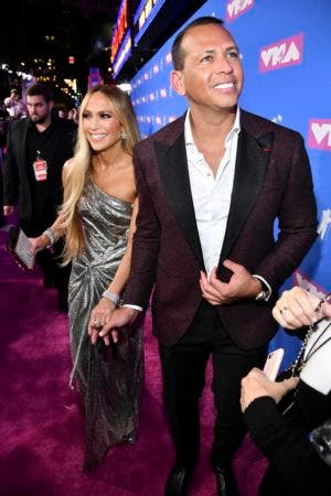 13. Jennifer Lopez, left, and Alex Rodriguez arrives at the MTV Video Music Awards at Radio City Music Hall on Monday, Aug. 20, 2018, in New York. (Photo by Charles Sykes/Invision/AP)