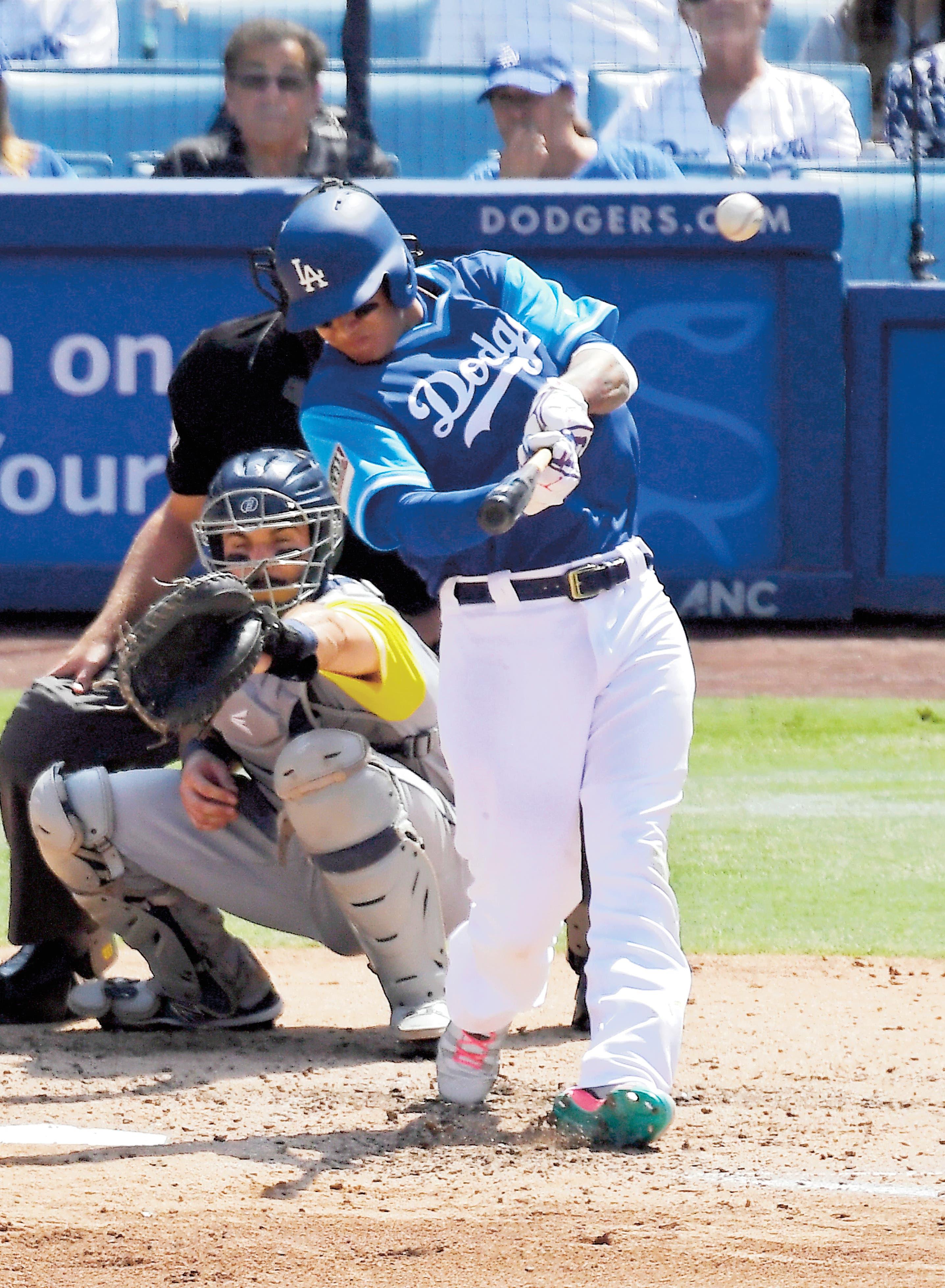 HURACÁN MACHADO se siente en los Dodgers
