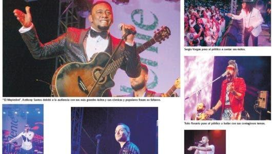 Latin MusicTours masivo concierto en Punta Cana