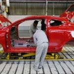 Employees works at the Villamuriel Renault factory in northern Spain on November 21, 2012. French car maker Renault plans to create 1,300 jobs at its factories in recession-hit Spain, Spanish Prime Minister Mariano Rajoy said. The French giant, which employs 10,000 people at four sites in Spain, signed a deal on working conditions with Spanish labour unions last week but is still negotiating terms with workers in France as it seeks to be more competitive. AFP PHOTO / CESAR MANSO