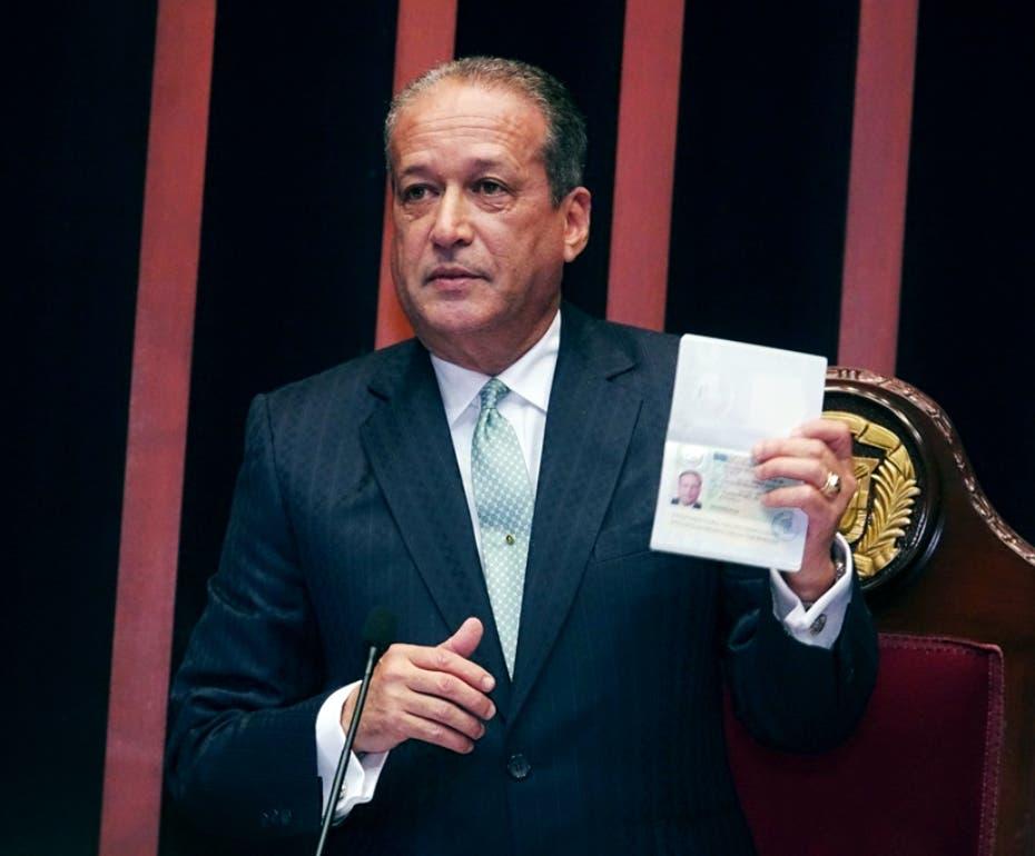 Video: Así fue como Reinaldo Pared Pérez respondió rumores de que Estados Unidos le quitó la visa