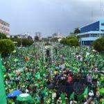 Marcha verde  12-8-2018 Hoy / - fuente Externa.