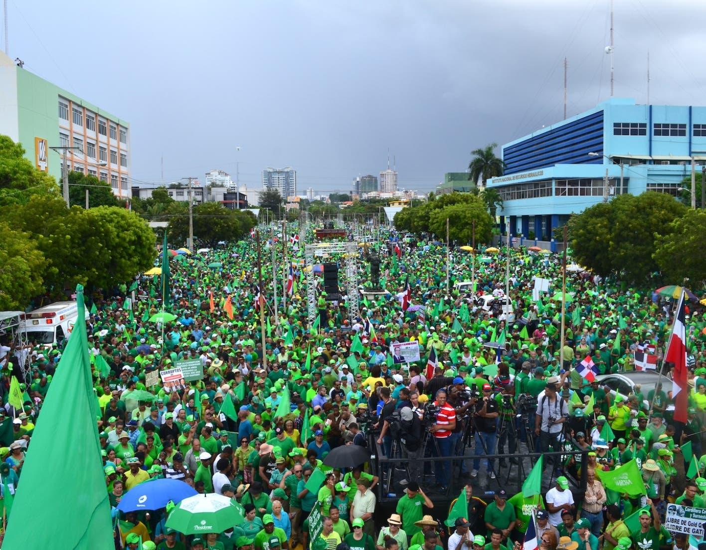 Marcha Verde cumple tres años siendo la mayor referente de lucha contra corrupción e impunidad