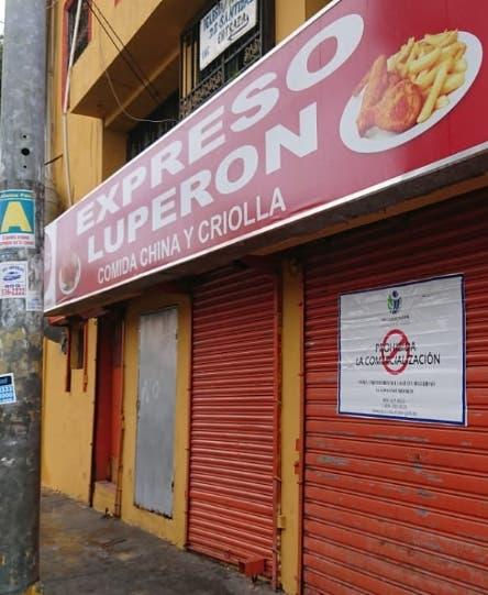 Pro Consumidor cierra negocios de comida