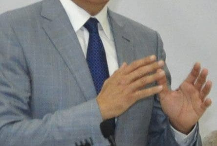 El pais.El ministro Administrativo de la Presidencia, José Ramón Peralta, ofreció declaraciones durante una rendición de cuentas de lo que han sido estos últimos seis años de Gobierno, Palacio Nacional.Hoy/Pablo Matos  6-8-2018