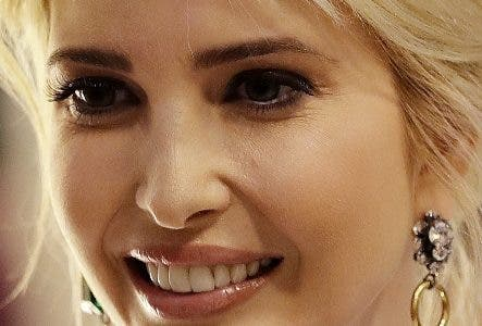 Ivanka Trump, daughter and adviser of U.S. President Donald Trump, arrives for a dinner after she participated in the W20 Summit in Berlin Tuesday, April 25, 2017. (AP Photo/Michael Sohn, pool)