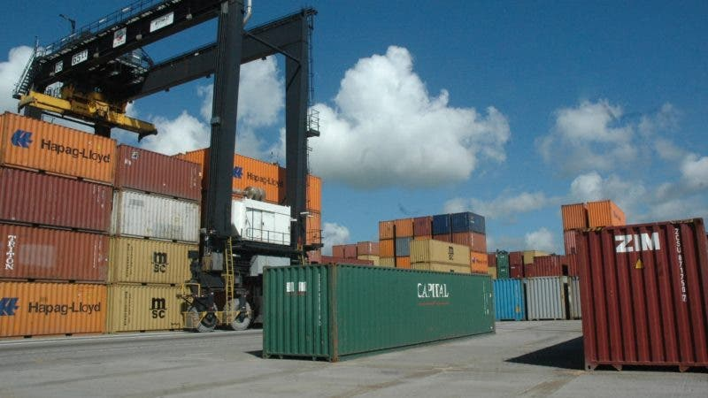 economia. Puerto Multimodal Caucedo