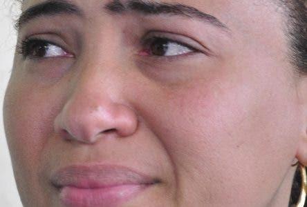 El pais.Entrevista a Danny Lerux Hermana de joven muerto anoche por delicuente en el Almirante.Hoy/Pablo Matos     17-08-2018