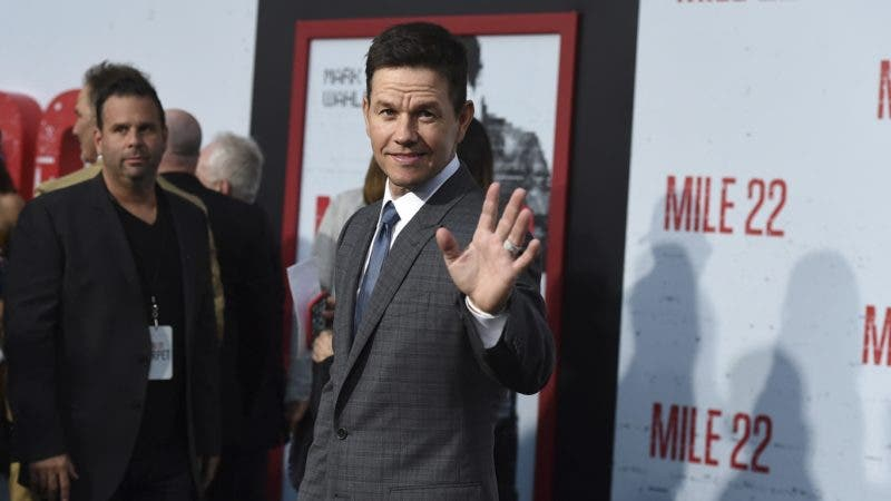 "Mark Wahlberg arrives at the Los Angeles premiere of ""Mile 22"" on Thursday, Aug. 9, 2018 in Los Angeles. (Photo by Jordan Strauss/Invision/AP)"