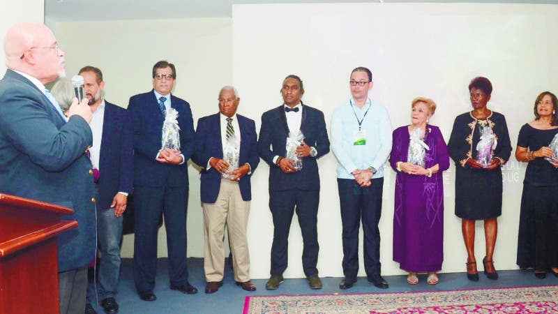 Entrega de galardones Magna lux República Dominicana. En foto: Angel Luis Fernandez. 24-08-18 Foto: Joselito Peña