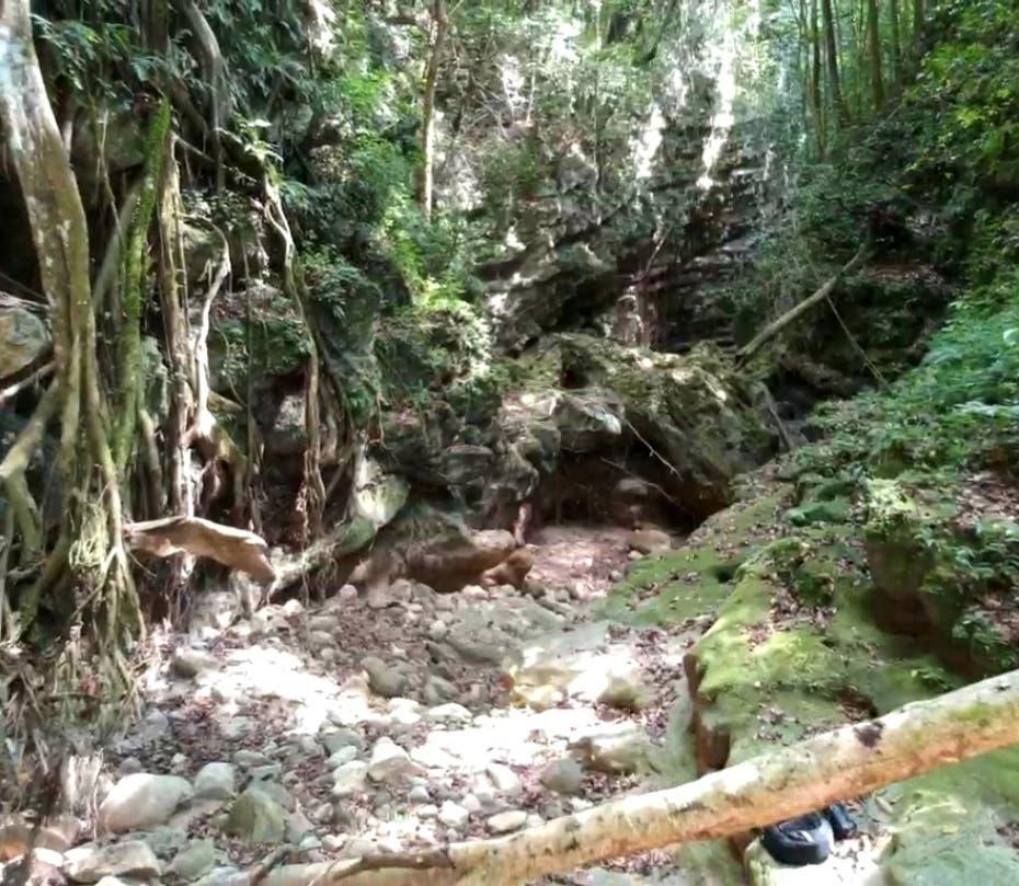 Río Mulito tiene tramo seco de casi cuatro kilómetros