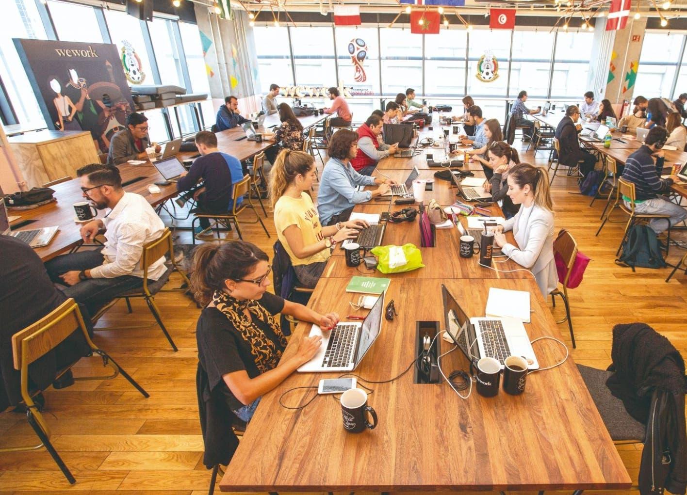En México crece el  coworking  y Wework quiere su parte