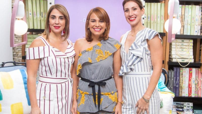 Rostros. Tissage. Elisabet Barceló, Maitté Abreu y Laura Betances
