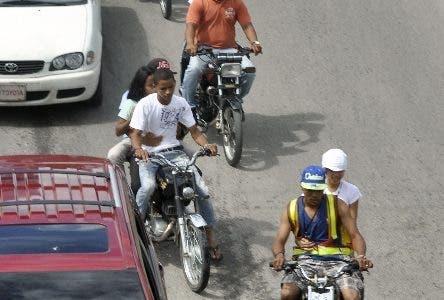 Motoristas. Motoconchistas. El Nacional/ Jorge Gonzalez