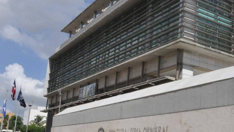 Fachada de Procuraduría de la  República Dominicana. Santo Domingo República Dominicana. 14 de noviembre del 2013. Foto Pedro Sosa