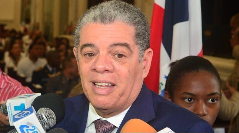 Carlos Amarante Baret, aspirante a la nominación presidencial del PLD.