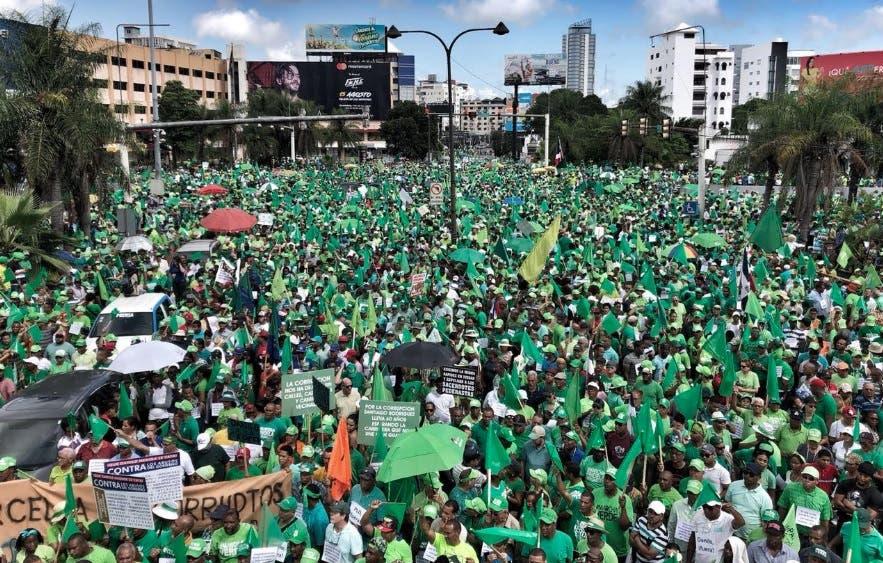 Marcha Verde aclara que no ha convocado ninguna manifestación para enero