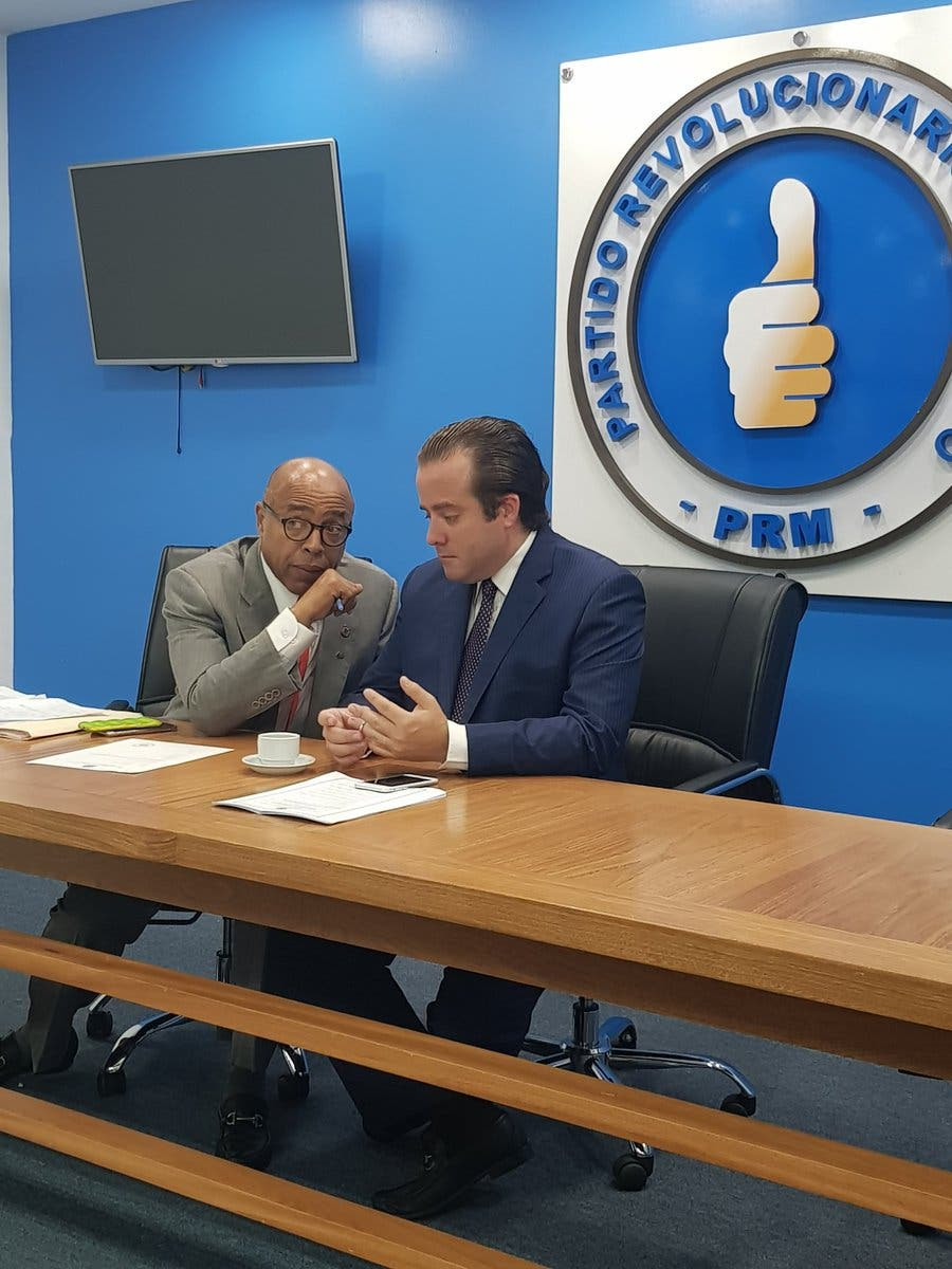 PRM votará de manera positiva como un solo bloque por Ley de Partidos