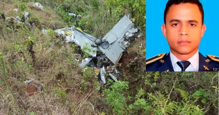 Falla de procedimiento y clima influyeron en accidente en que murió piloto en Elías Piña