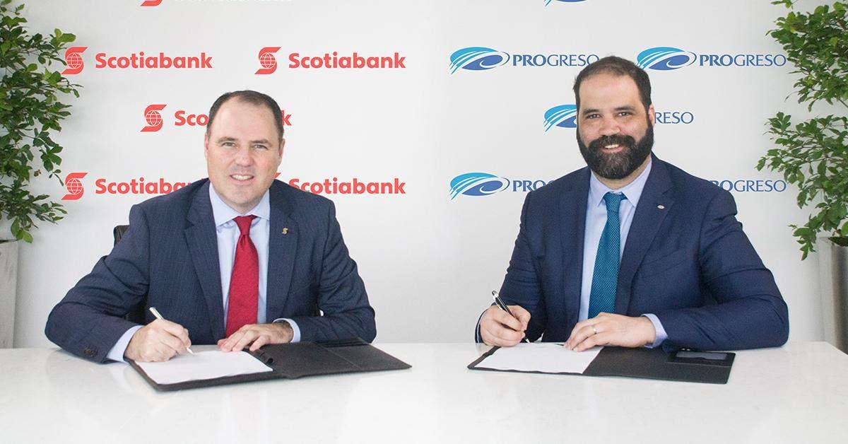 Scotiabank formaliza acuerdo para adquirir el Banco del Progreso