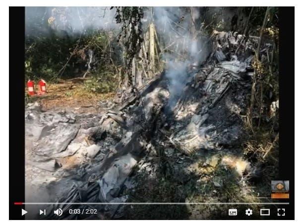 Video: Detalles del lamentable accidente aéreo donde murieron un médico y un empresario