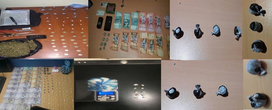 Logran interceptar las actividades de 31 presuntos distribuidores de drogas durante operativos
