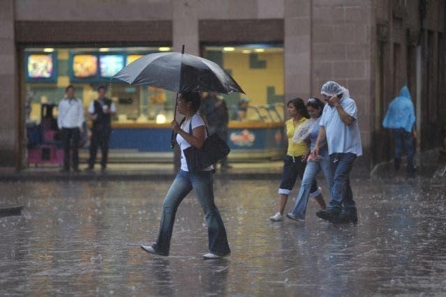 Onamet pronostica disminución en las lluvias para mañana