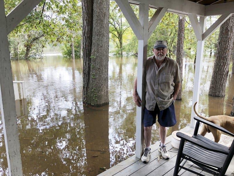 10 días después de Florence Carolina del Sur vive nuevo caos