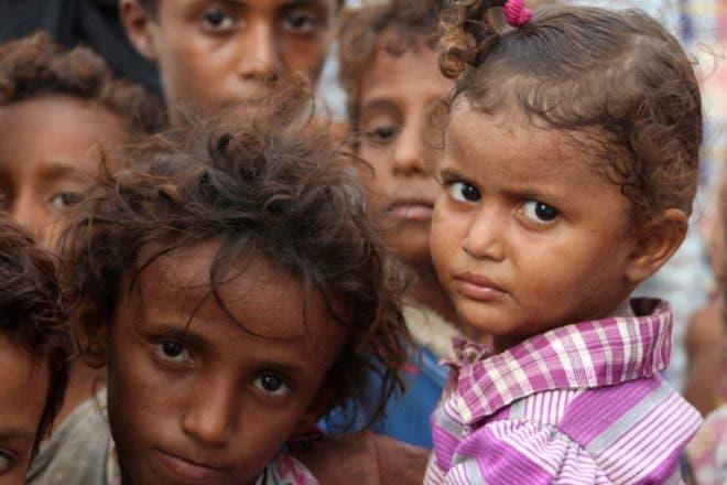 Cinco millones de niños amenazados de hambruna en Yemen por guerra