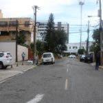 """Calle """"Seminario"""" que inicia en la iglesia Santísima Trinidad. Hoy/ Napoleón Marte"""