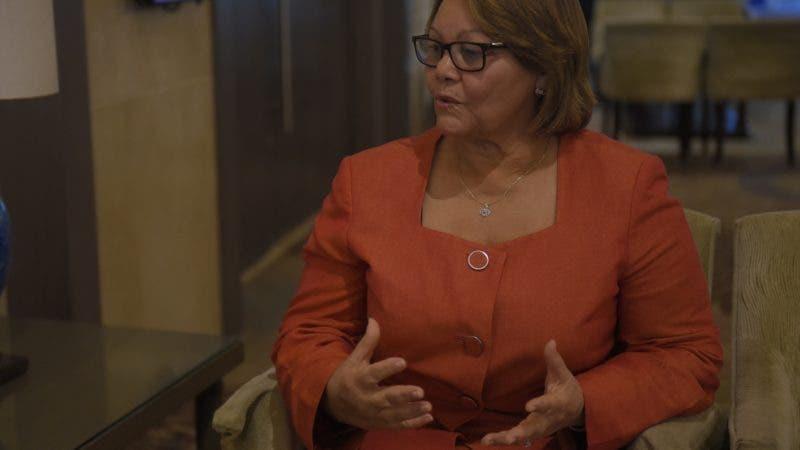 Entrevista sobre pedagogia a Carmen Galves , directora de grado del (ISFODOSUS). Hoy/ Arismendy Lora