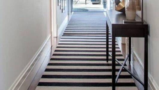 Cómo elegir una alfombra para decorar el pasillo