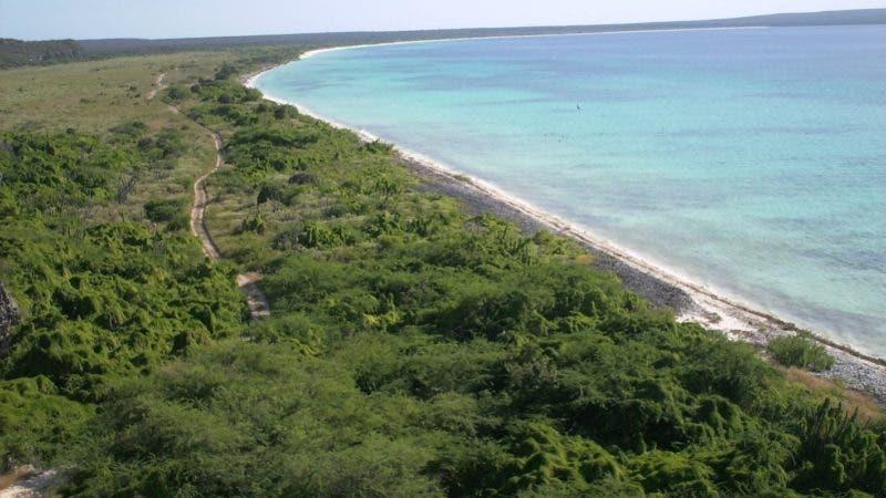 Bahía de las aguilas, playa del sur oeste de República Dominicana (Pedernales)