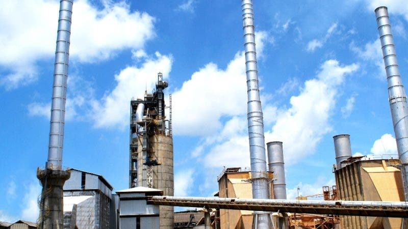 Vista de las nuevas instalaciones Cemento Cibao.17/11/2009/Hoy/Ezequiel Gil.