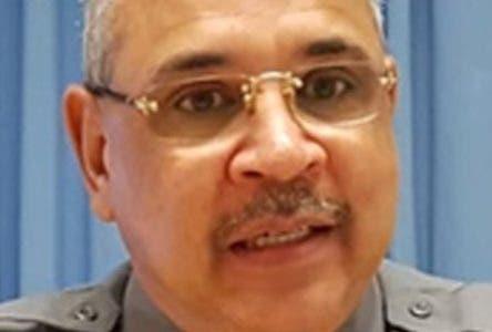 Vocero de la Policía en Santiago, coronel Juan Guzmán Badía. Hoy/Fuente Externa 6/9/18
