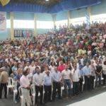 Alcalde David Collado juramenta miles de voluntarios del programa de Educación Ciudadana. Fuente externa 02/09/2018