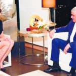Canciller Miguel Vargas afirma relaciones entre República Dominicana y Estados Unidos son excelentes. En foto: Canciller Miguel Vargas y la embajadora de EE. UU.  en República Dominicana, Robin Bernstein. 09-09-18 Fuente Externa