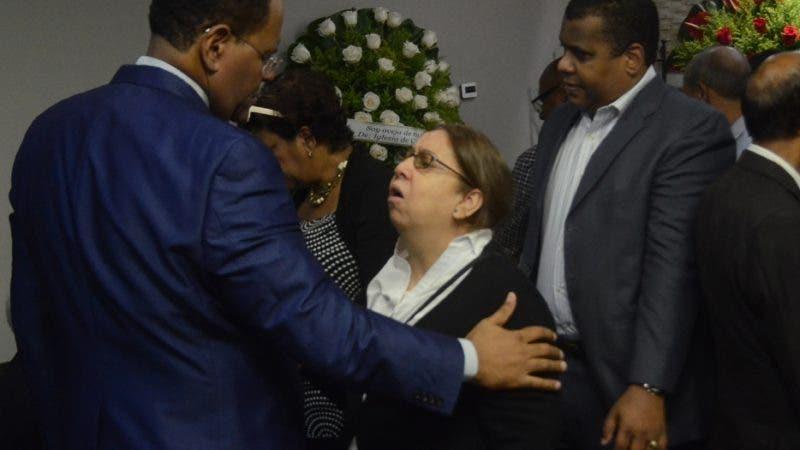 Velatorio de Mercedes Herasme, primera administradora de periódicos del Pais. el velatorio fue efectuado en la funeraria Blandino.  9-9-2018 Hoy/ Ariel Gómez