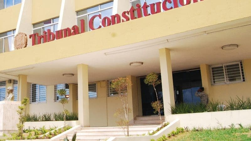 Fachada del Tribunal Constitucional del Distrito Nacional. El país/ Hoy Aracelis Mena