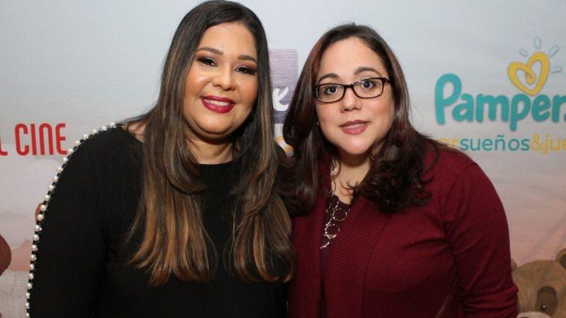 Rostros. Mamá Osa.  Yina Guerrero y Karla Peña