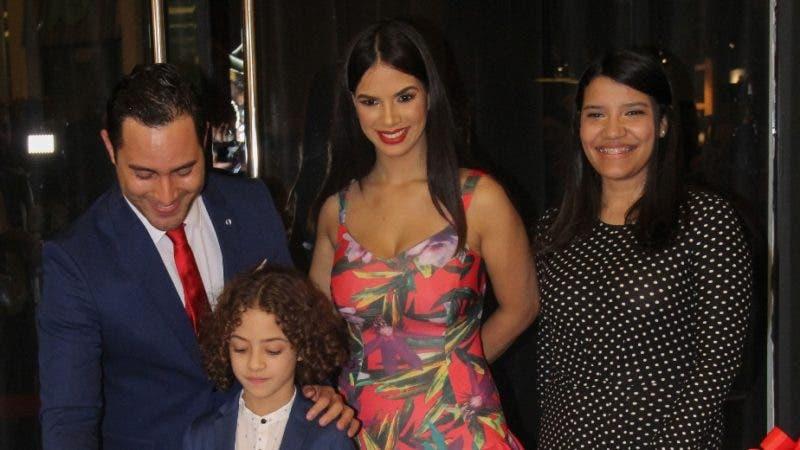 Rostros. Raeldo López, Cristal de Moya, Luisa Ruiz y Gael López Moya