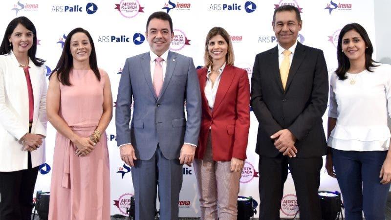 Rostros. Prevención. Mirla Estevez, Doris Alburquerque, Andrés Mejía, Ana María Ramos, Jaime Herrera y Gabriela Castillo.