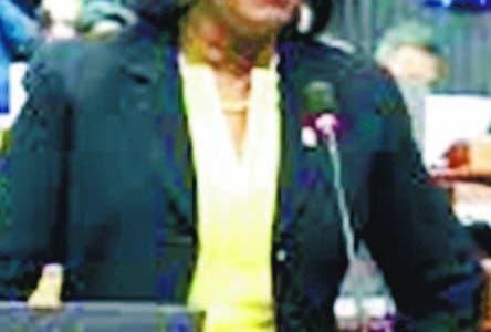 Diputada Inés Bryan, del PRSC. Hoy/Fuente Externa