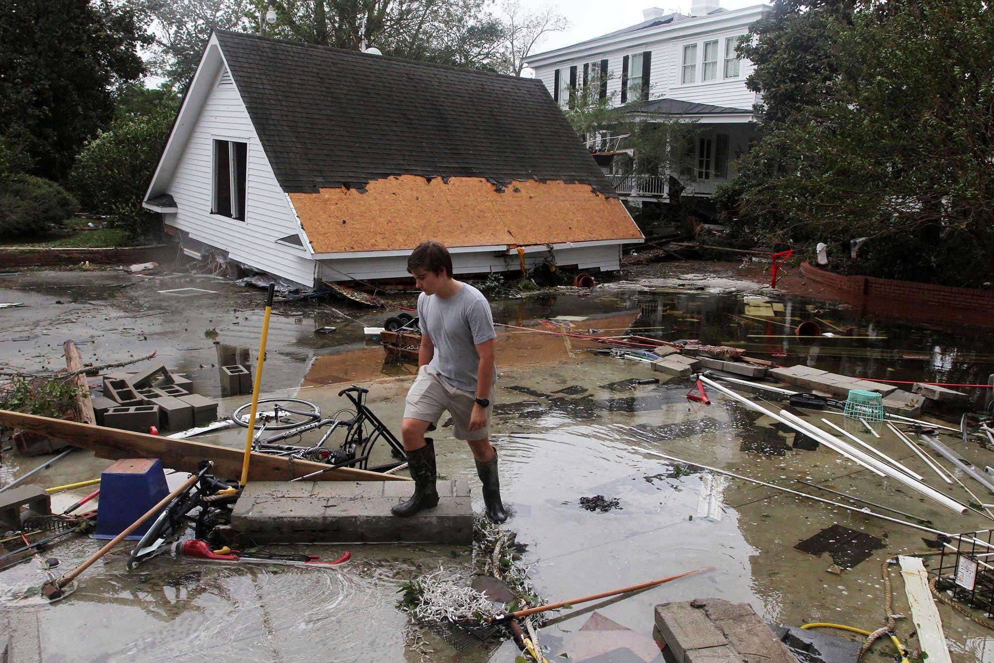 Aumentan a 13 los muertos por Florence, que se degrada a depresión tropical