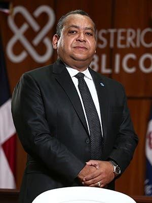 Adolfo Augusto Feliz Pérez Procurador Fiscal Titular de San Juan de la Maguana.