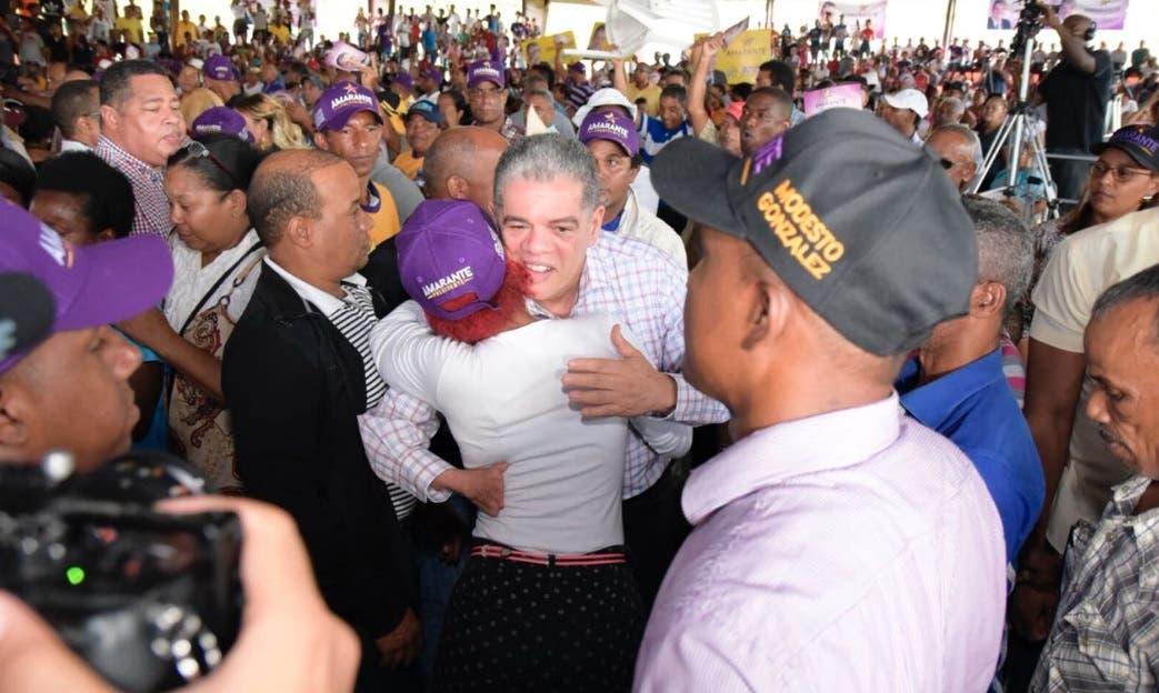 Amarante Baret promete mantener transparencia en sorteos de obras públicas