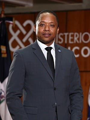 Ángel Darío Tejeda Fabal Procurador Fiscal Titular de Peravia.